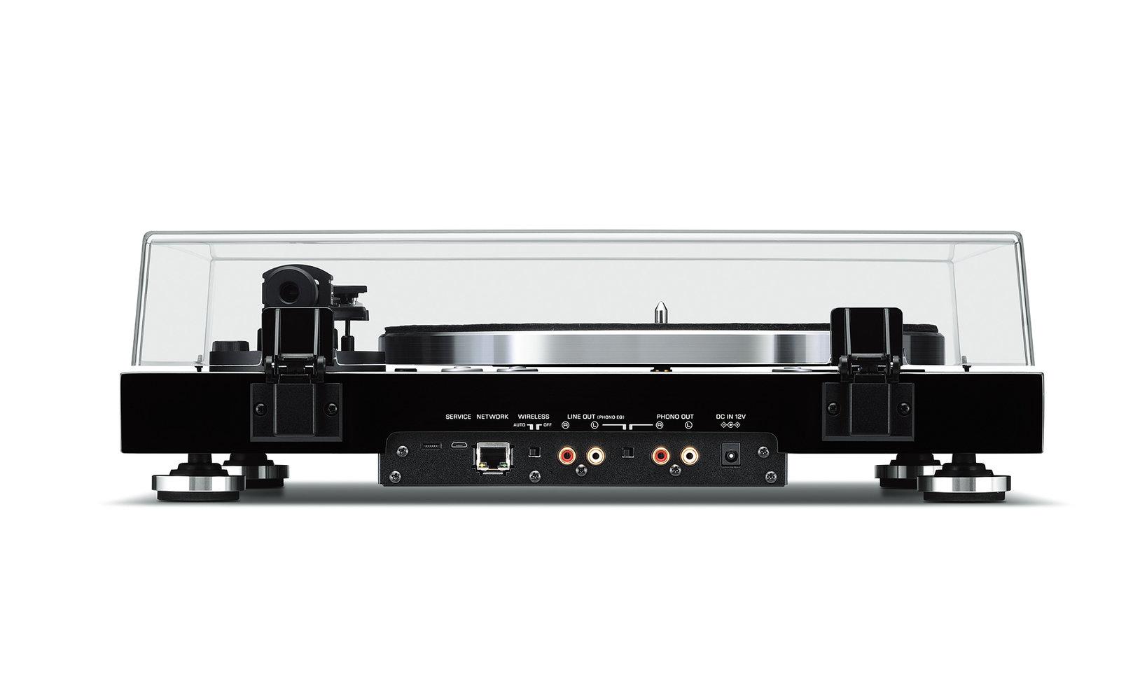 ヤマハ ネットワークターンテーブル 『MusicCast VINYL 500』 カラー:(B)ブラック 本体価格90,000円(税抜)