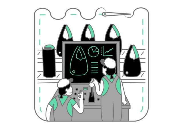 革加工技術に基づく確かな縫製