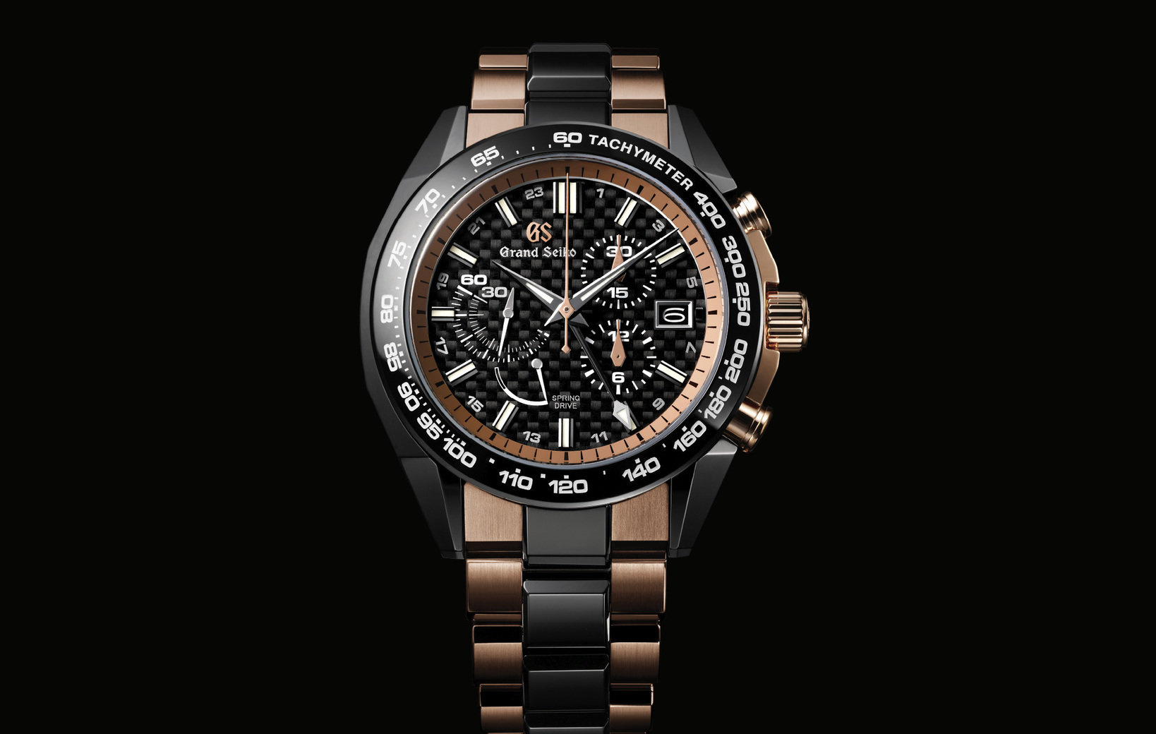 Grand Seiko Sport Collection Spring Drive Chronograph GMT featuring Nissan GT-R50 by Italdesign コンセプトモデル