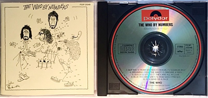 the who by numbers 音楽cd muuseo