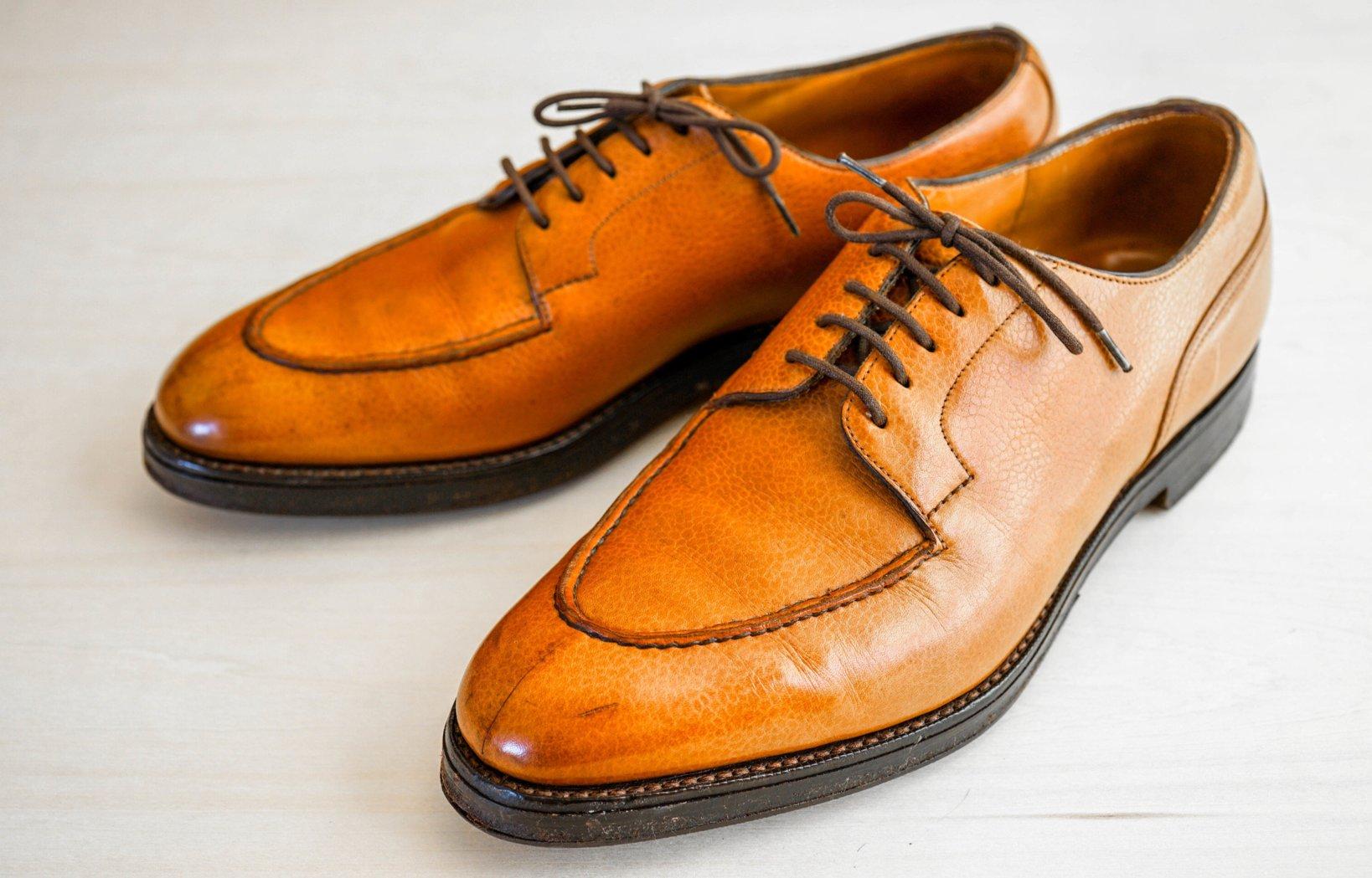 イギリスの靴ブランド「EDWARD GREEN(エドワードグリーン)」のUチップ。モデルは「DOVER(ドーバー)」。lastは202。