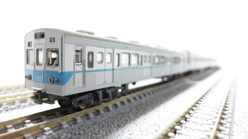 営団5000系電車 - 鉄道模型 | MU...