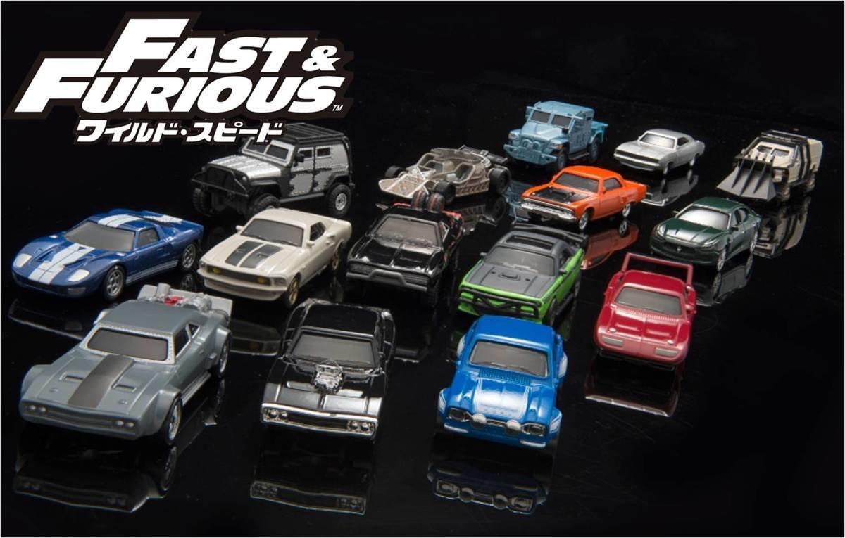 ワイルド・スピード」シリーズに登場する車種を集めた「ワイルド・スピード ダイキャストカーシリーズ」を3月25  日(土)より全国の取扱店にて発売いたします。