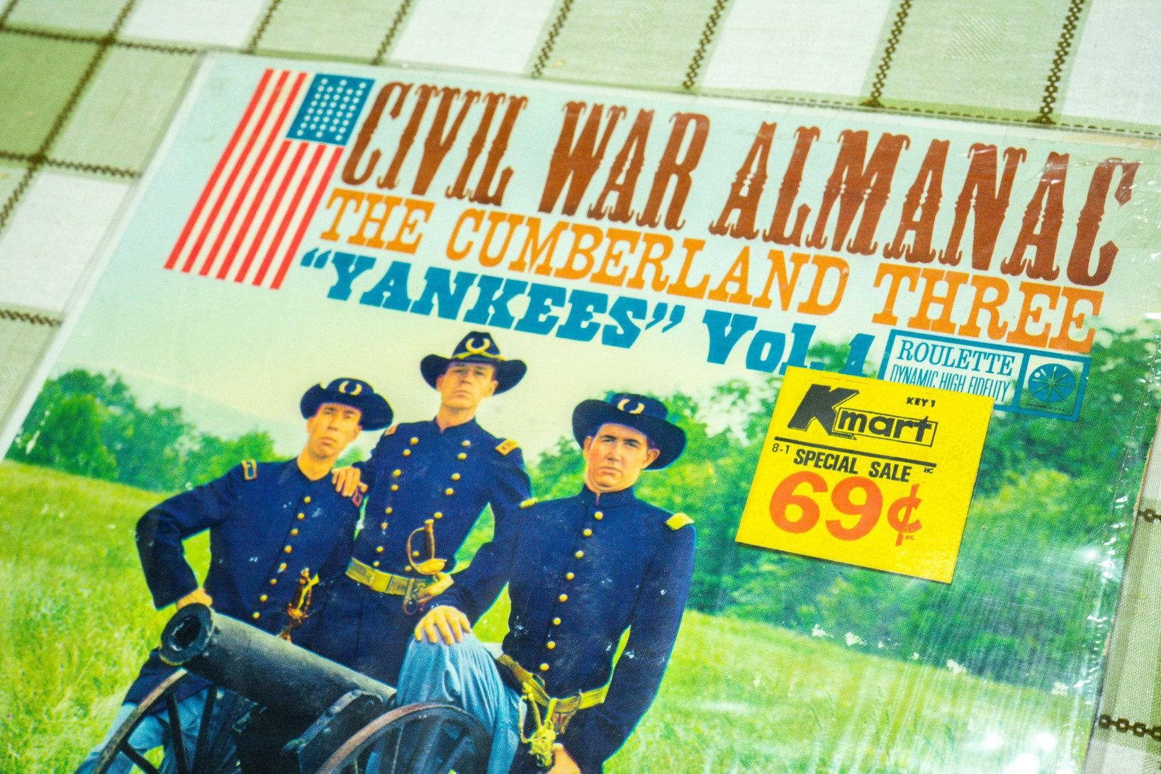 南軍の歌を集めたアルバム