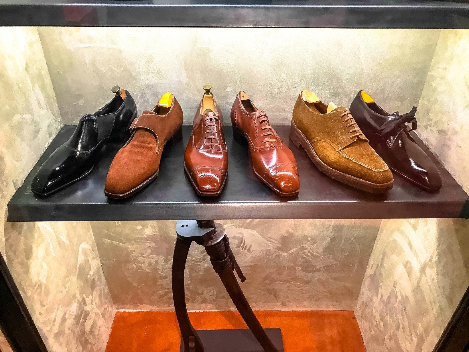 パリの靴店Aubercy所蔵のコレクション