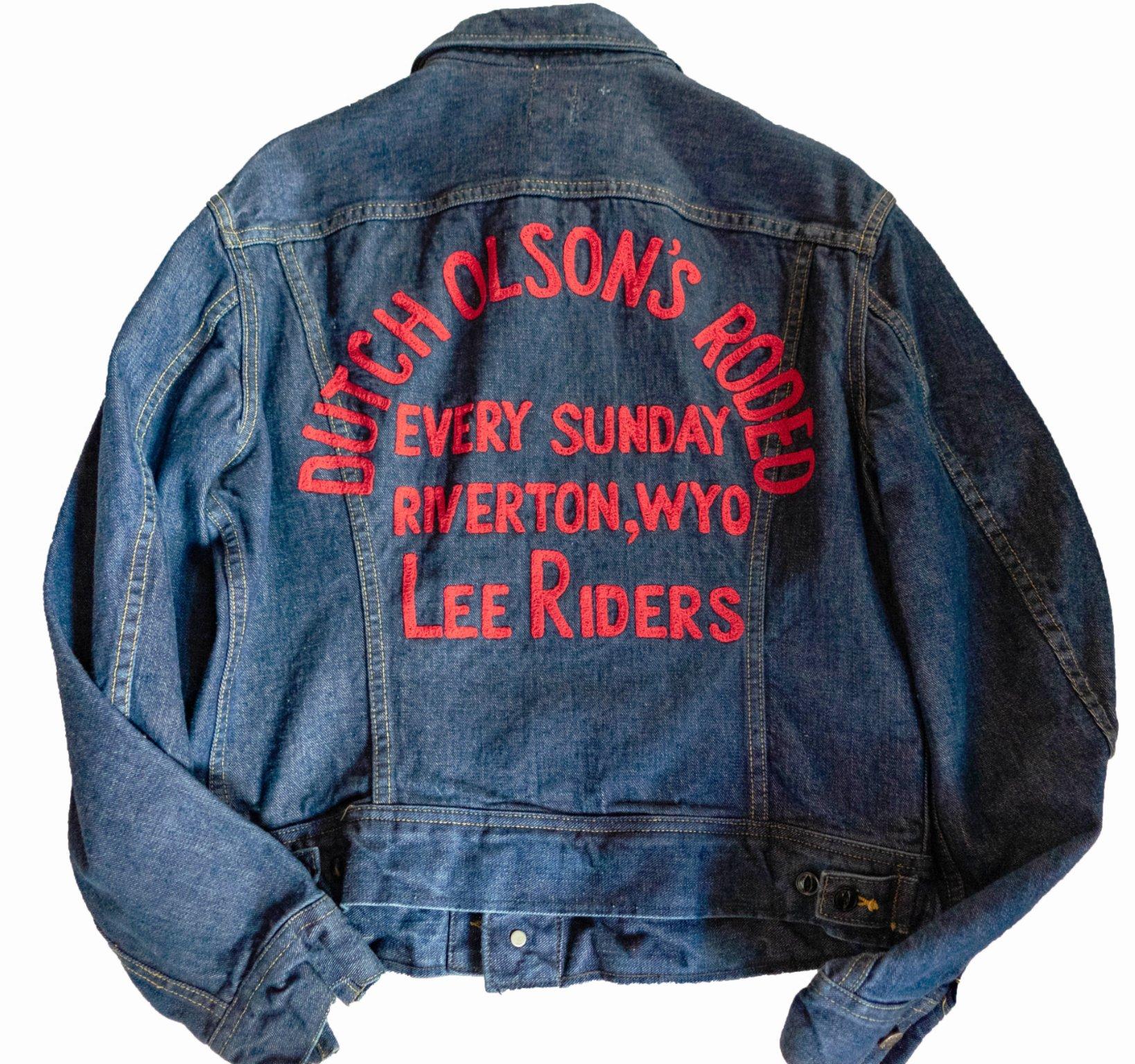 70sのデニムジャケット。ブランドはLee。