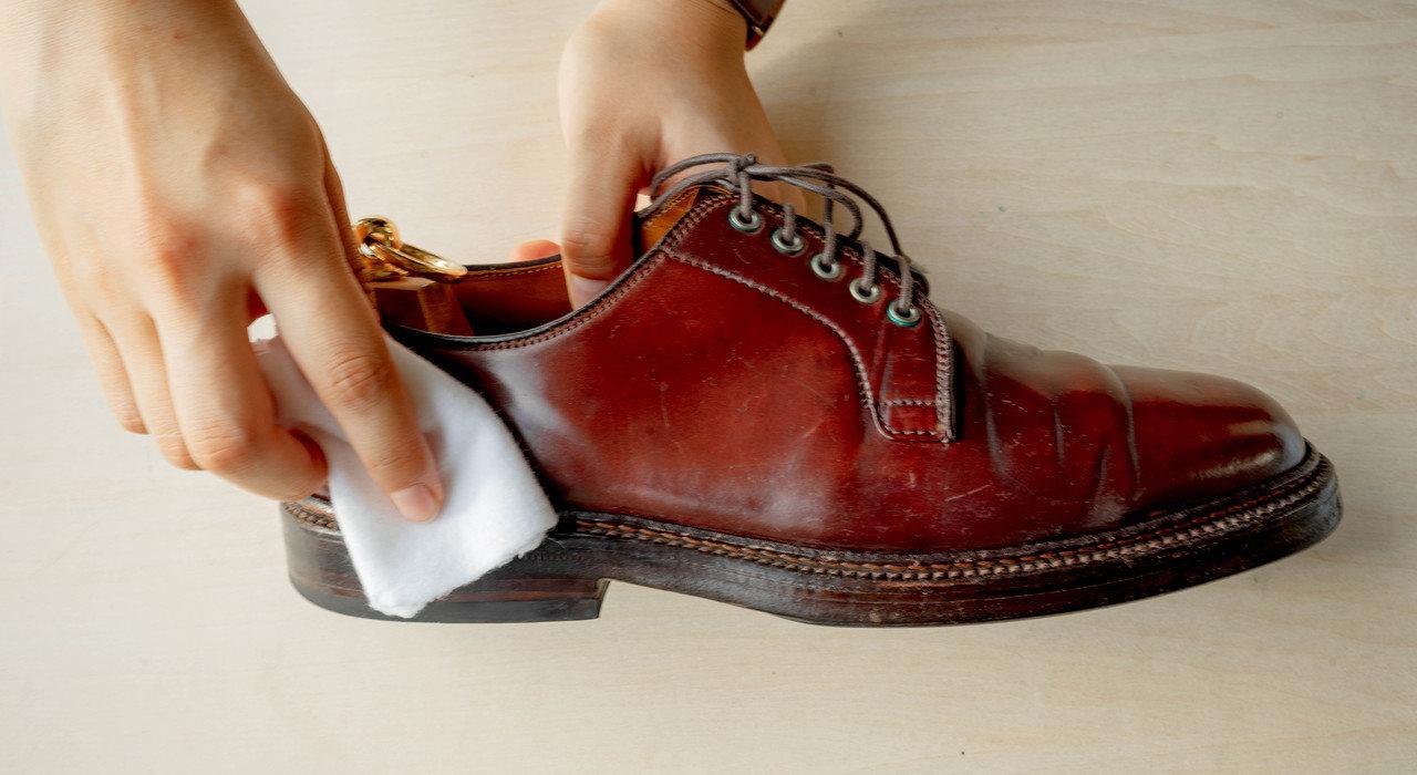 革のダイヤモンド。コードバンの革靴のお手入れ方法_image
