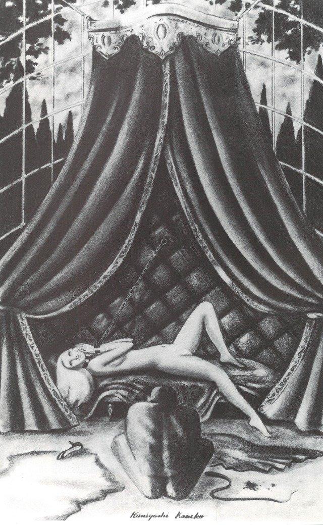 1964年「O嬢の物語」挿絵より