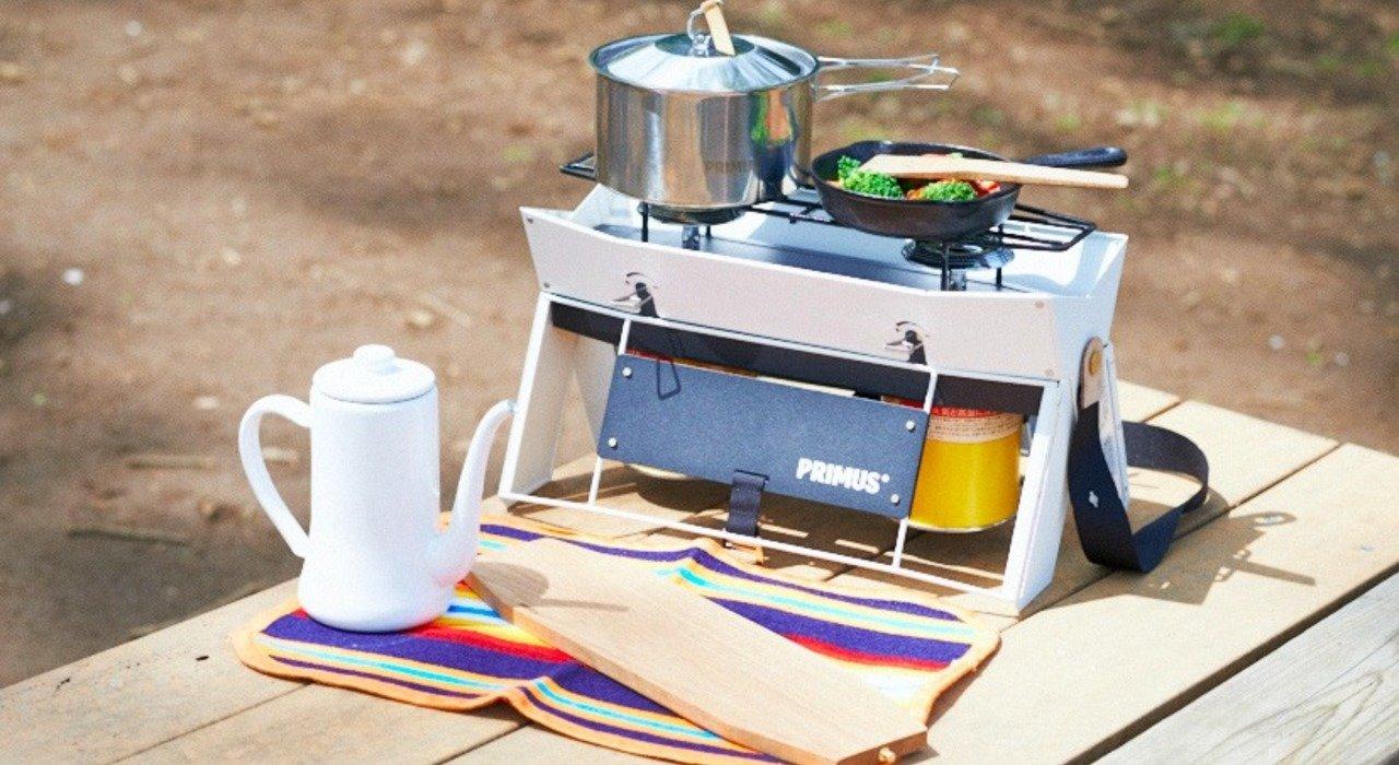 今どきのキャンプスタイルにフィット。デザイン性の高いツーバーナー PRIMUS(プリムス)「オンジャ」_image