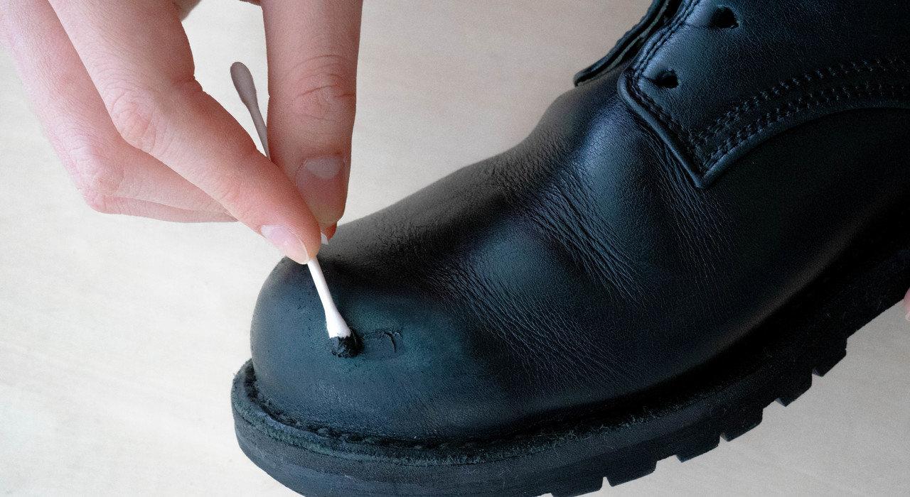 革靴に傷がついた時の対処方法(めくれ傷、えぐれ傷)_image
