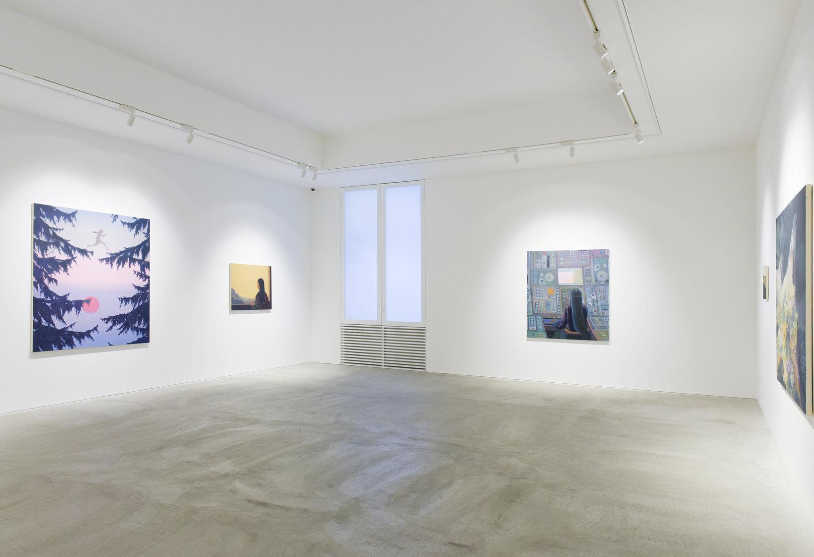 東京・六本木にある「TOMIO KOYAMA GALLERY」。この日は、福井 篤展「アルカディアン」が開催されていた。