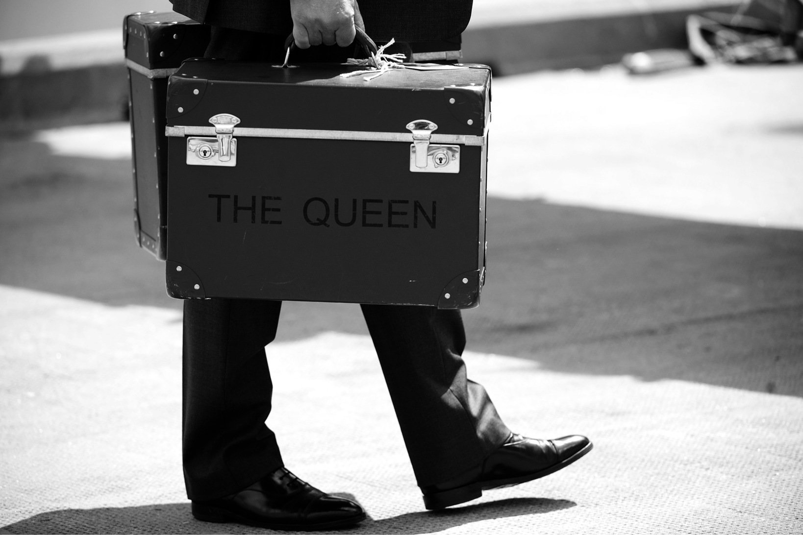 エリザベス女王のハットケース「THE QUEEN」