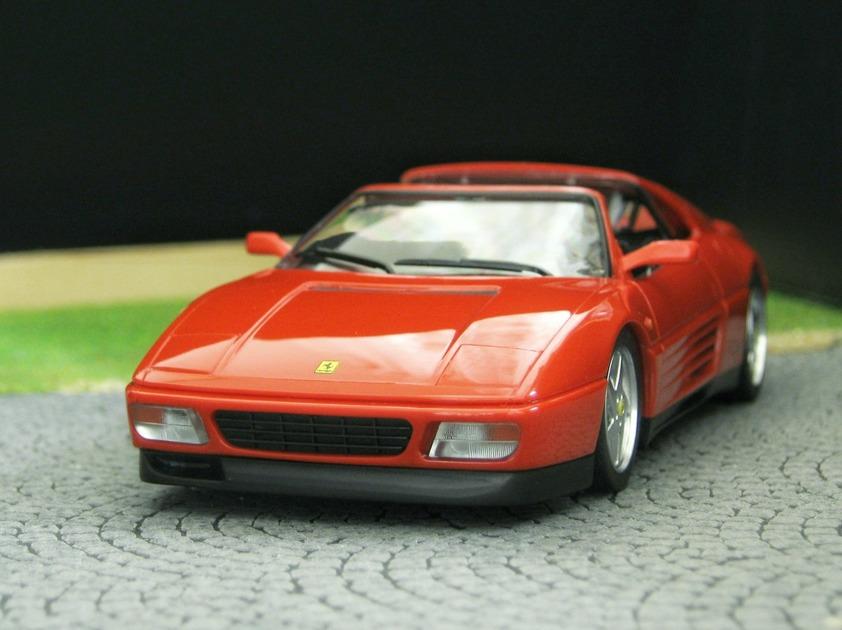 Herpa Echelle 1//87 ème HO Ferrari 348 TB rouge