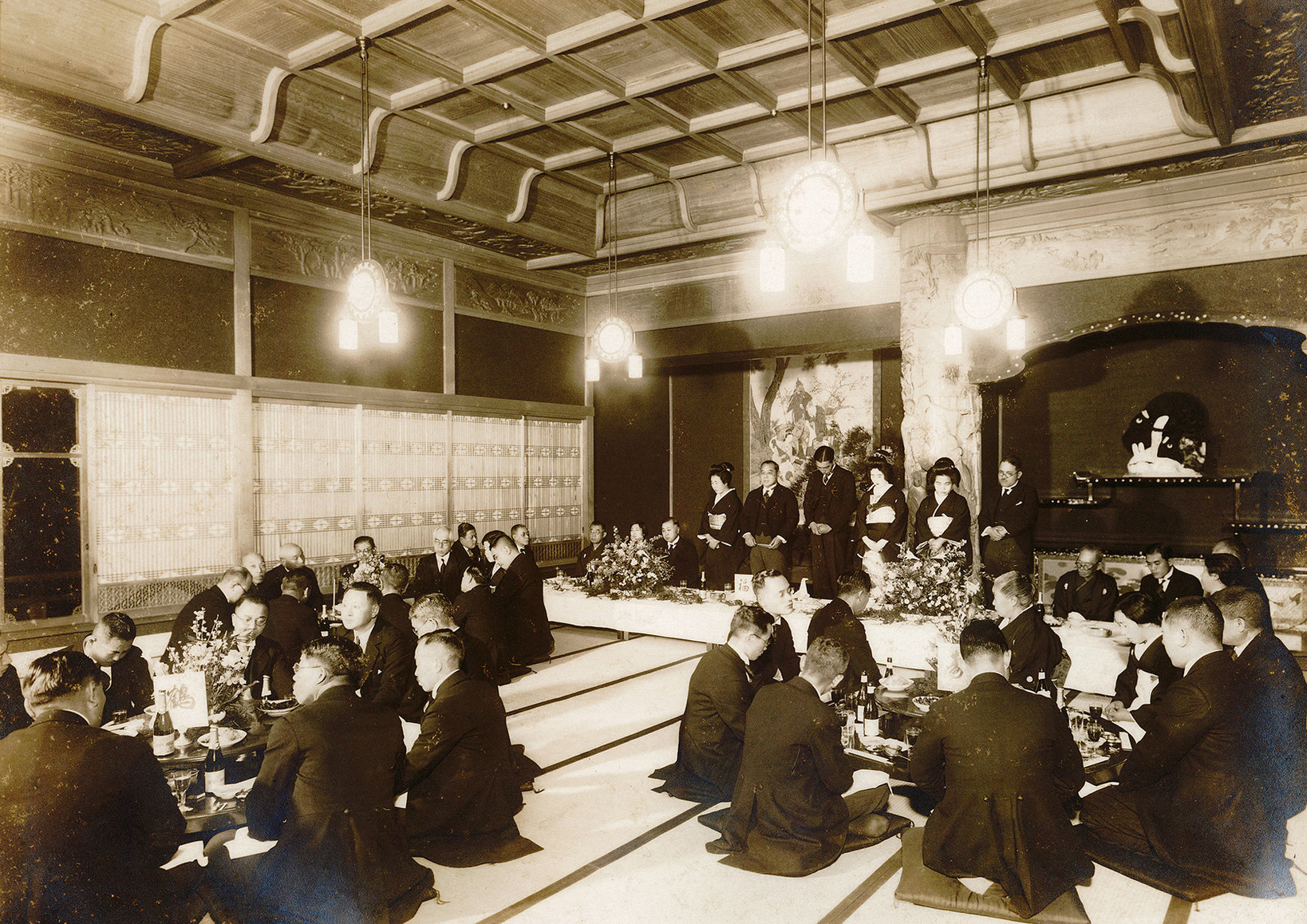 1930年代の婚礼風景(旧 目黒雅叙園)