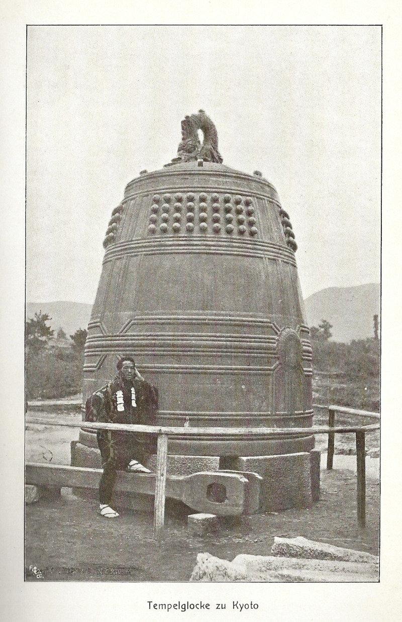 Moh 1904 tempelglocke zu kyoto