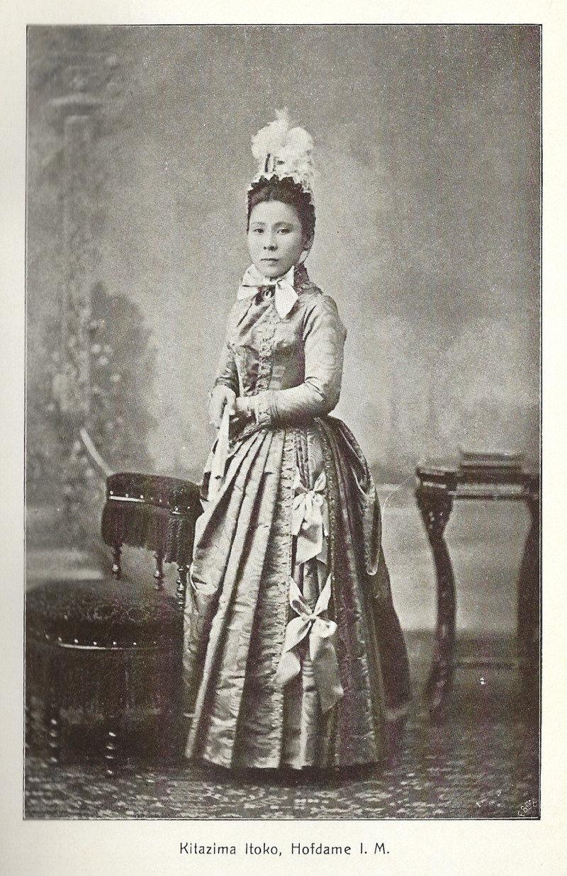 Moh 1904 kitazima itoko 2c hofdame i.m.