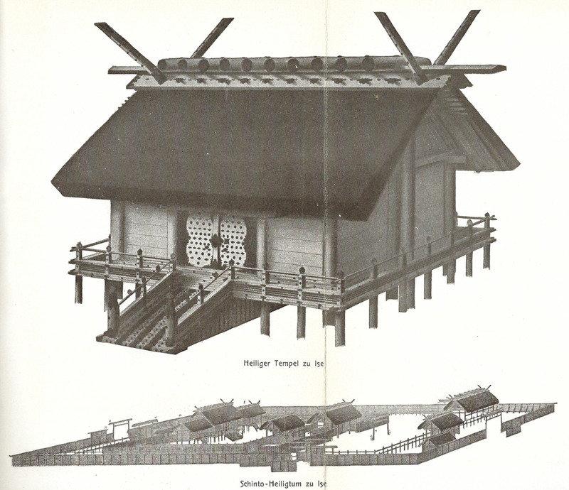 Moh 1904 shinto heiligtum zu ise