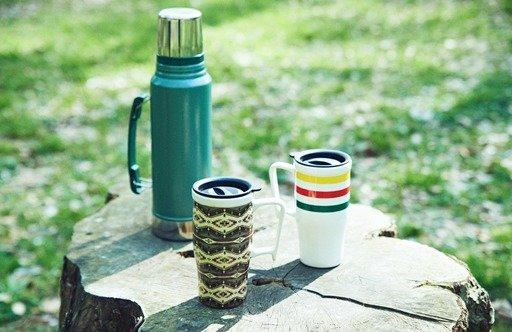 たっぷり飲めるPENDLETON(ペンドルトン)の陶器製マグカップはアウトドアシーンにもフィット!_image
