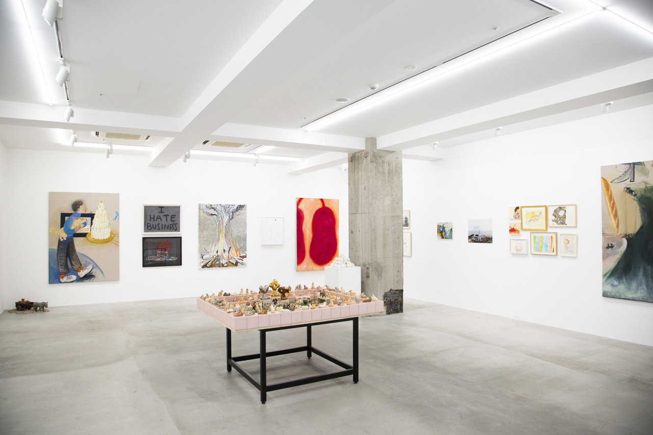 六本木にあるオオタファインアーツ。取材当日はコレクション展 「進行的収蔵」が開催されていた。