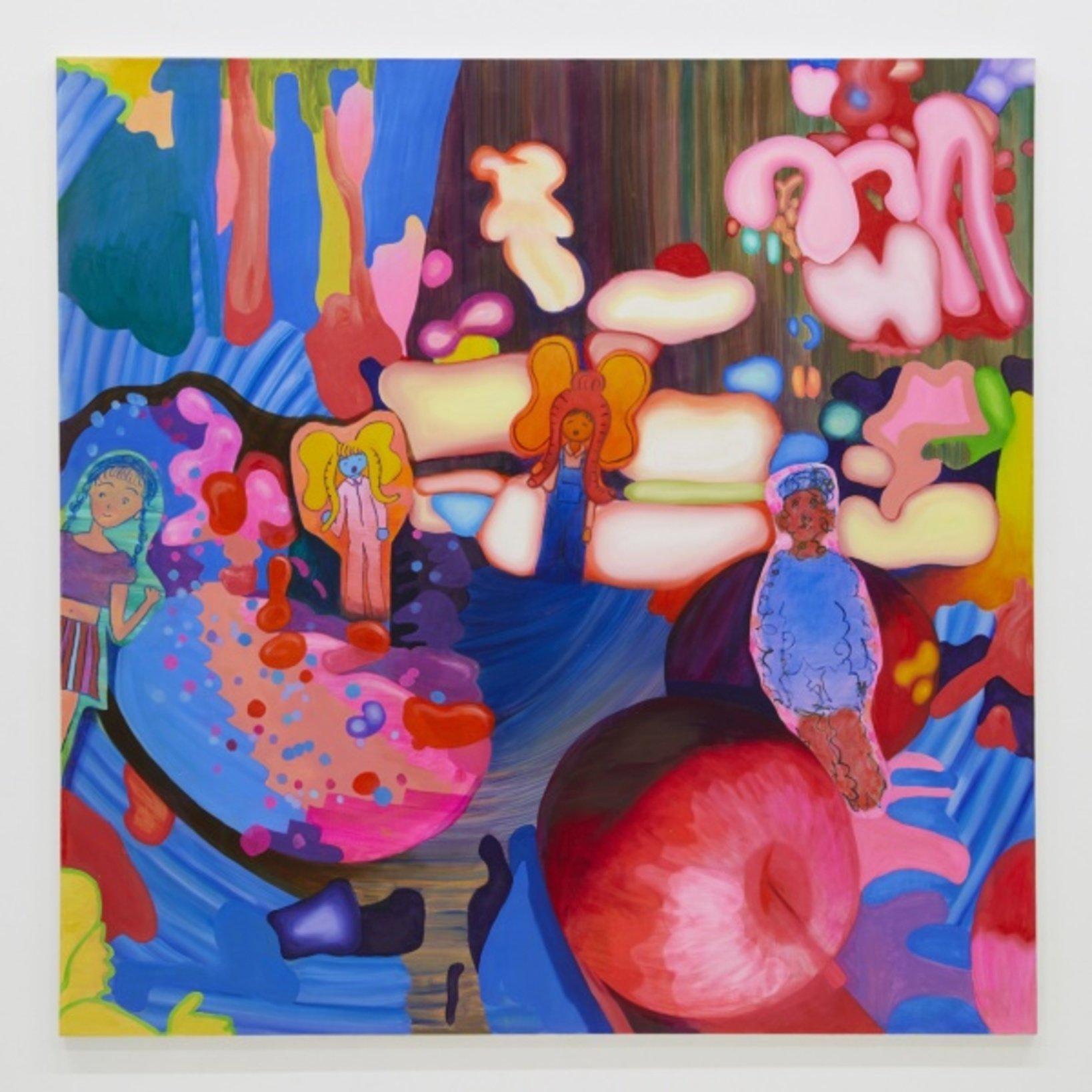 Vortex 2018 oil on canvas 150.2*150.4cm ©Aya Ito