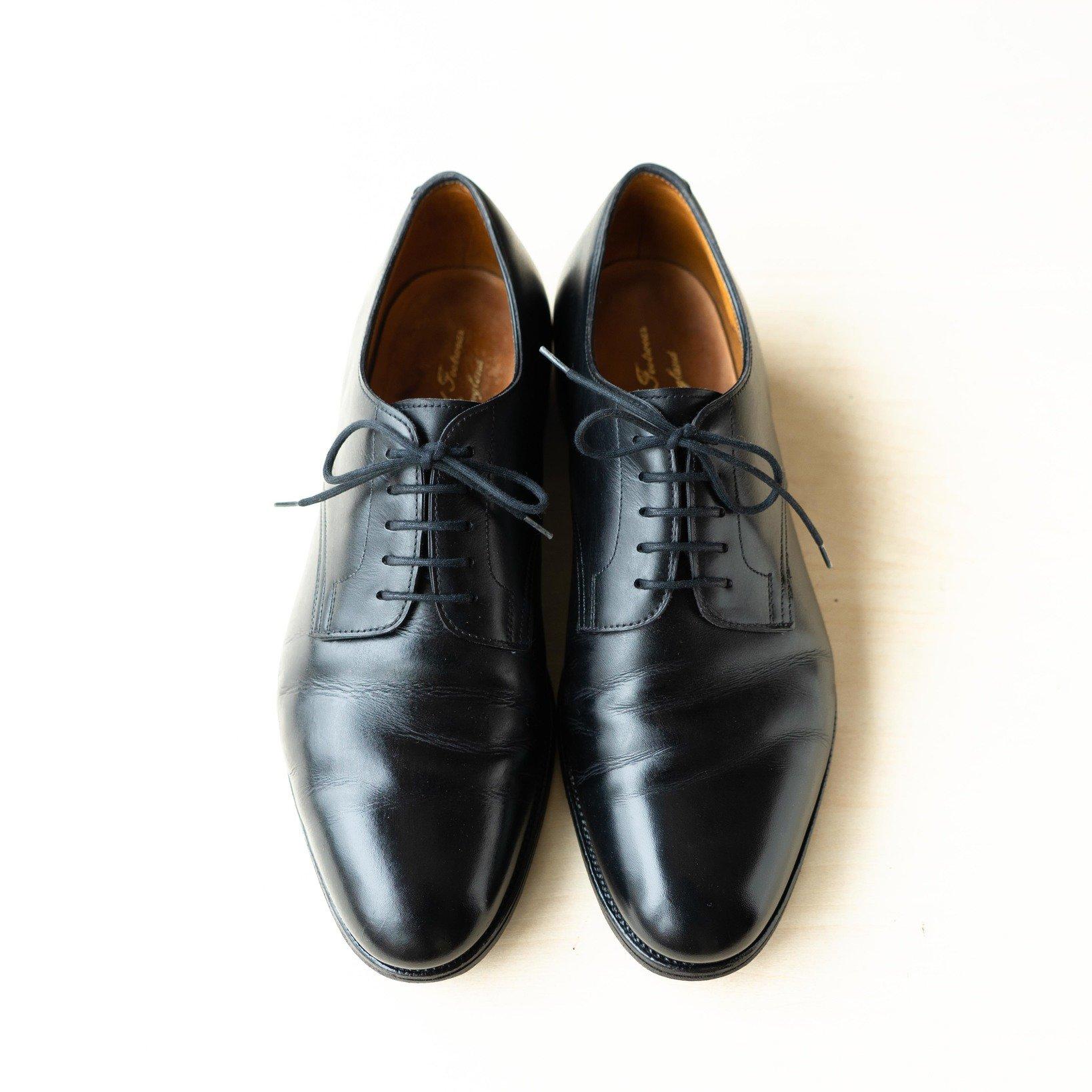 ブランド名:LLOYD FOOTWEAR スタイル:外羽根式プレーントウ ペットネーム:WINDERMERE