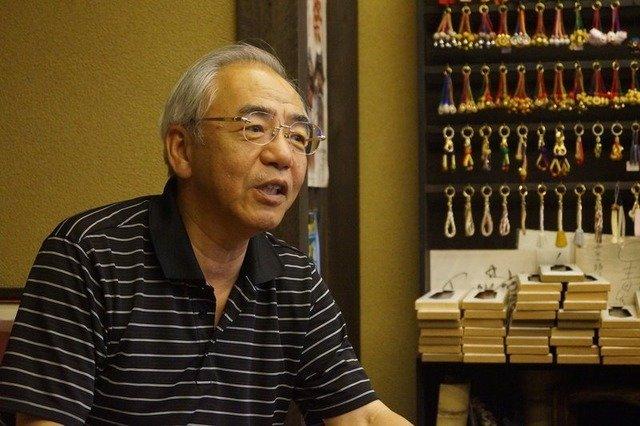 伊賀上野観光協会の会長も務める廣澤浩一さん。