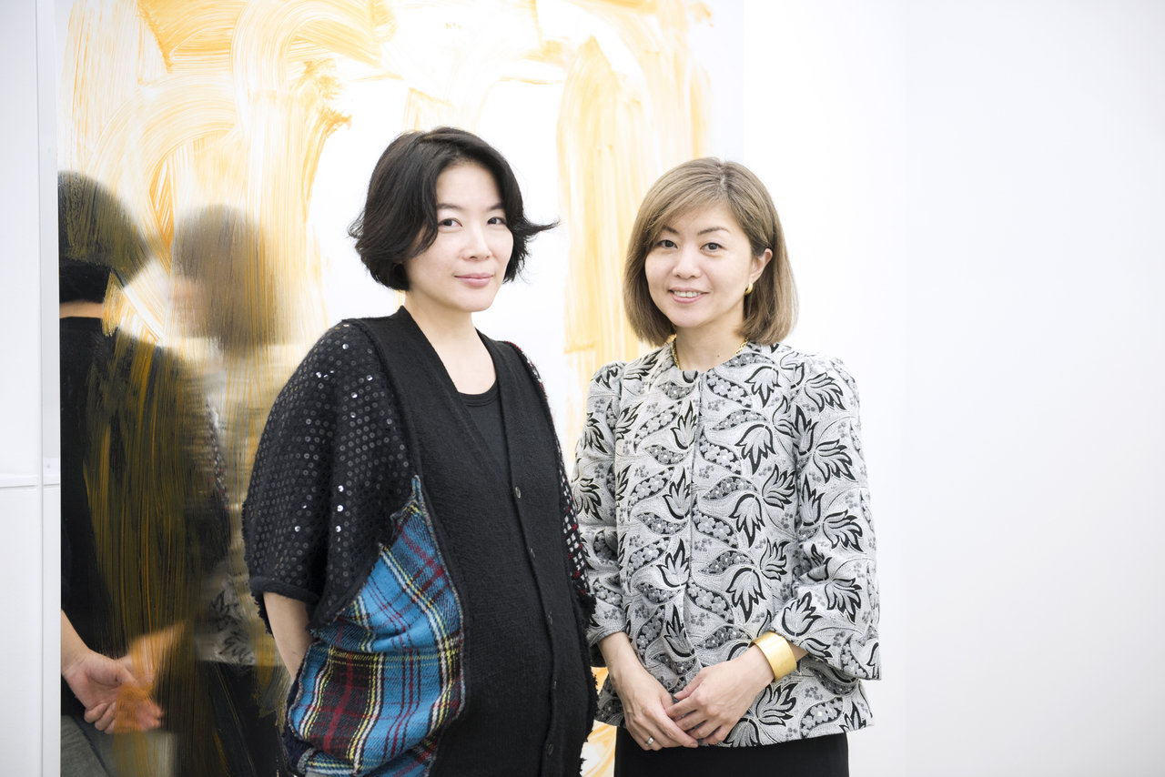 左から:蜷川敦子、田口美和