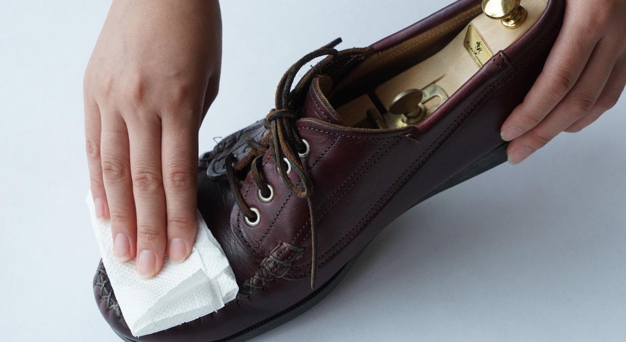 革靴カビを除去し、二度と生やさないお手入れ方法_image