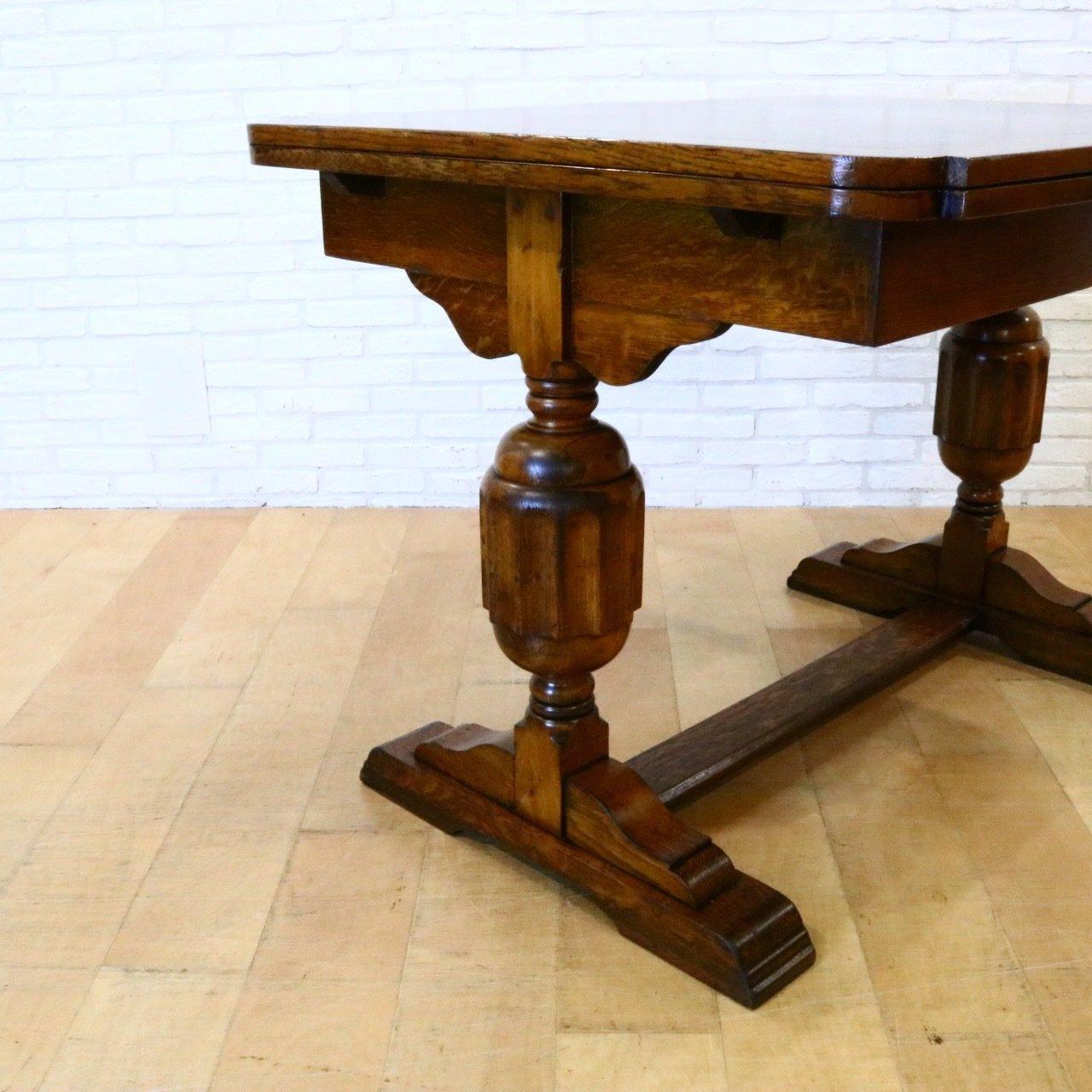 ブルボーズレッグのドローリーフテーブル(参考商品)