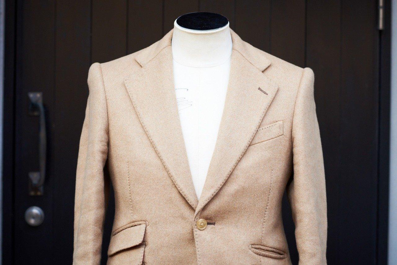 カシミヤ100%のジャケット