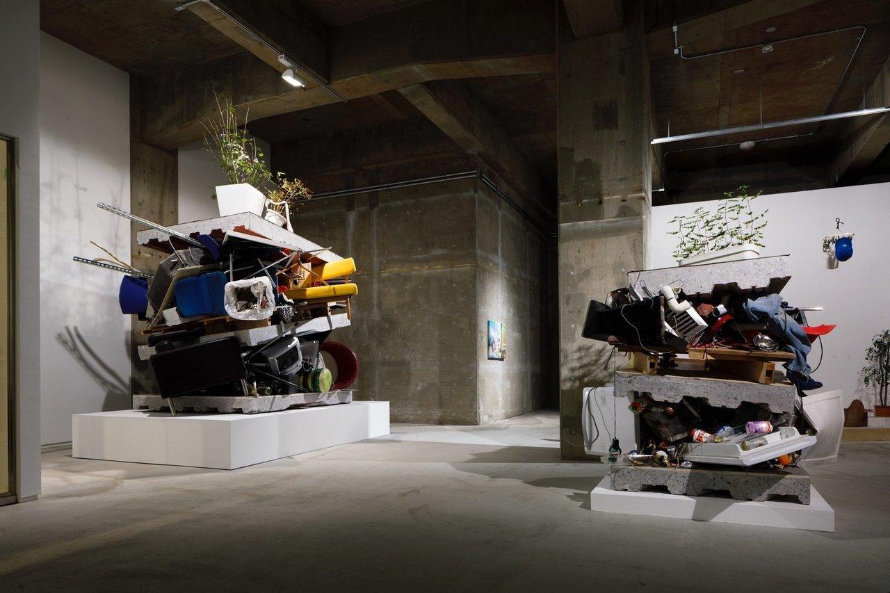 """Installation view of Chim↑Pom """"Grand Open - Marvelous Liberation -"""", 2018, ©️Chim↑Pom, courtesy of ANOMALY, Photo by Kenji Morita"""