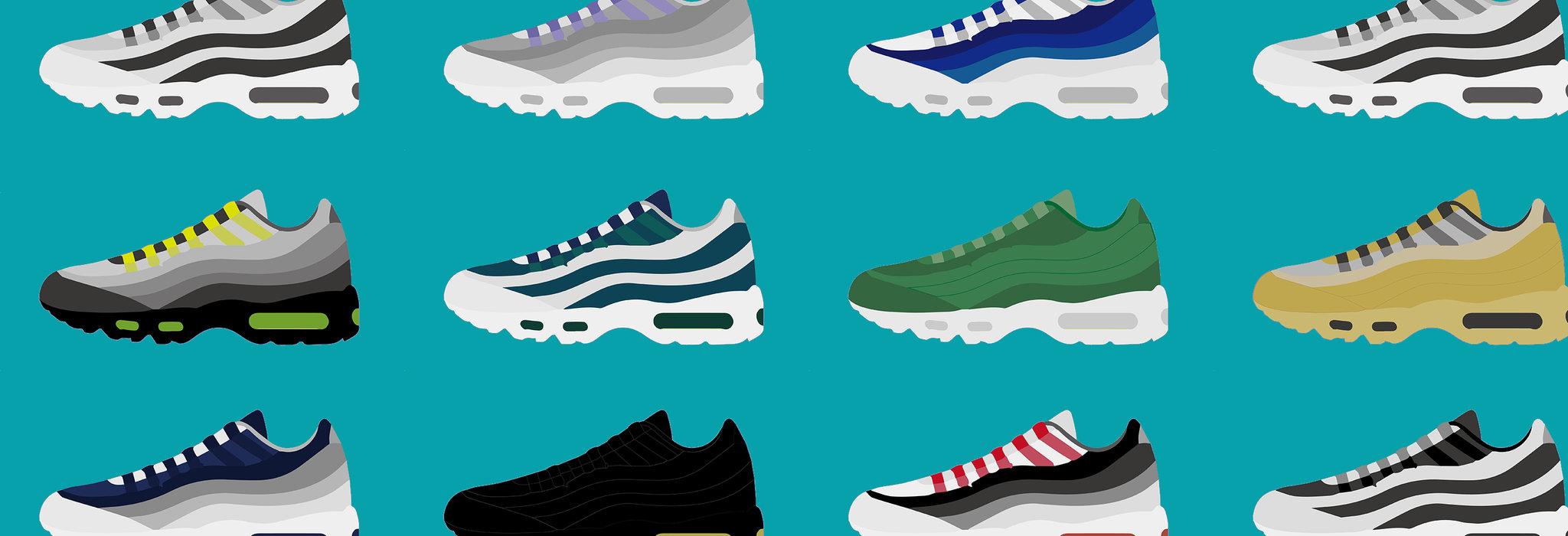 【図鑑】Nike Air Max 95 カラーバリエーション_image