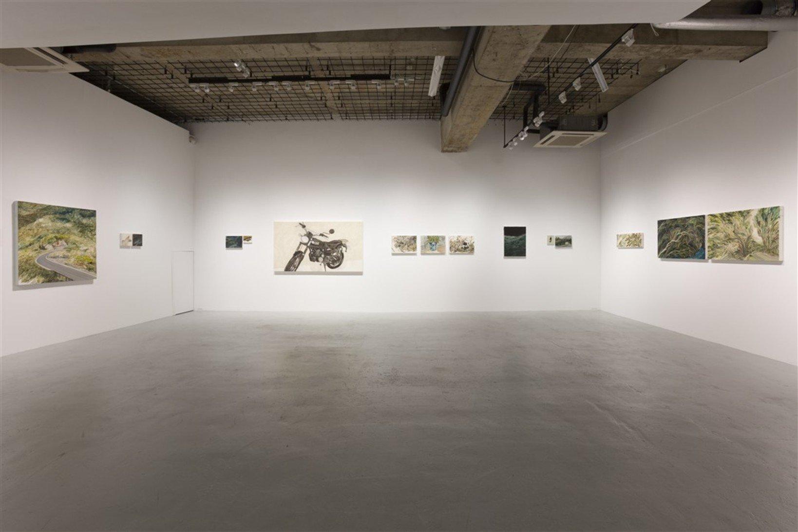 Installation view at nca   nichido contemporary art / photo by Kei Okano
