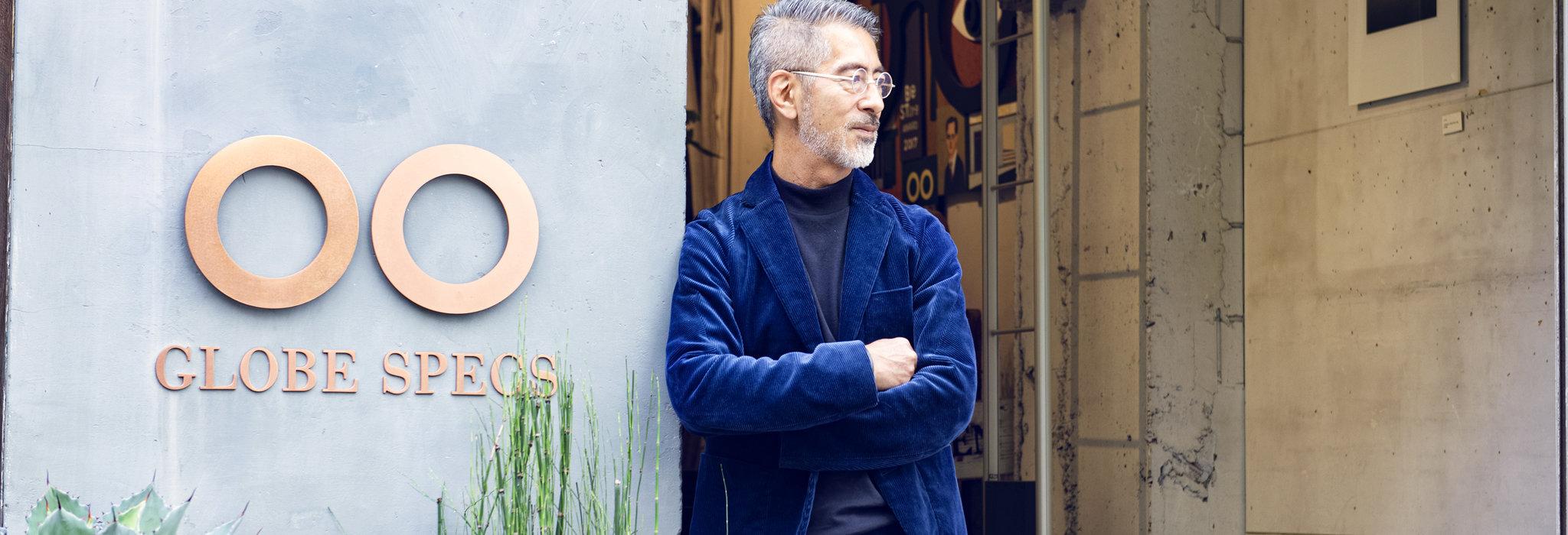 【メガネを道具から相棒に】GLOBE SPECS 岡田哲哉氏インタビュー。眼鏡は自分の印象をコントロールする手段である_image