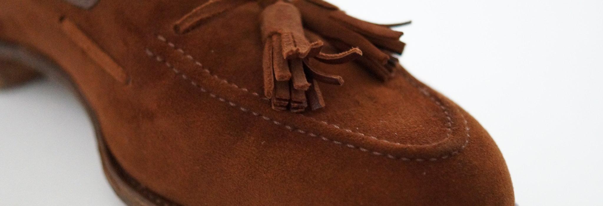 革靴の素材「スエード」のルーツや特徴。ヌバック・ベロア・バックスキンとの違いについて_image