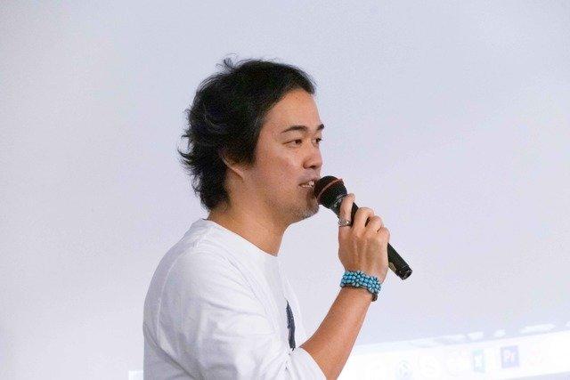 イベント主催者であり制作者の上田悠詞さん