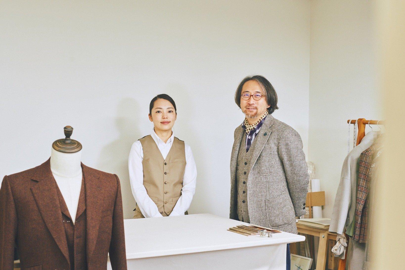 終始和やかな雰囲気のインタビューだったが、会話中にさらっと倉野さんのジャケットの服地ブランドを言い当てるという、あっと驚かされる一面も。SHEETSで作られるスーツの魅力だけでなく、森田さん自身の魅力にも引き込まれました。