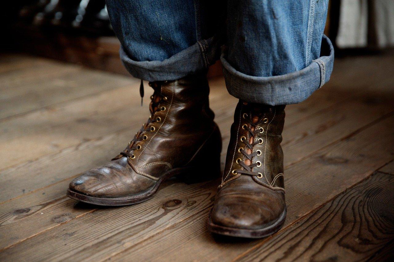 松浦さんが当日履かれていたブーツは、完全に心身と一体化していた!