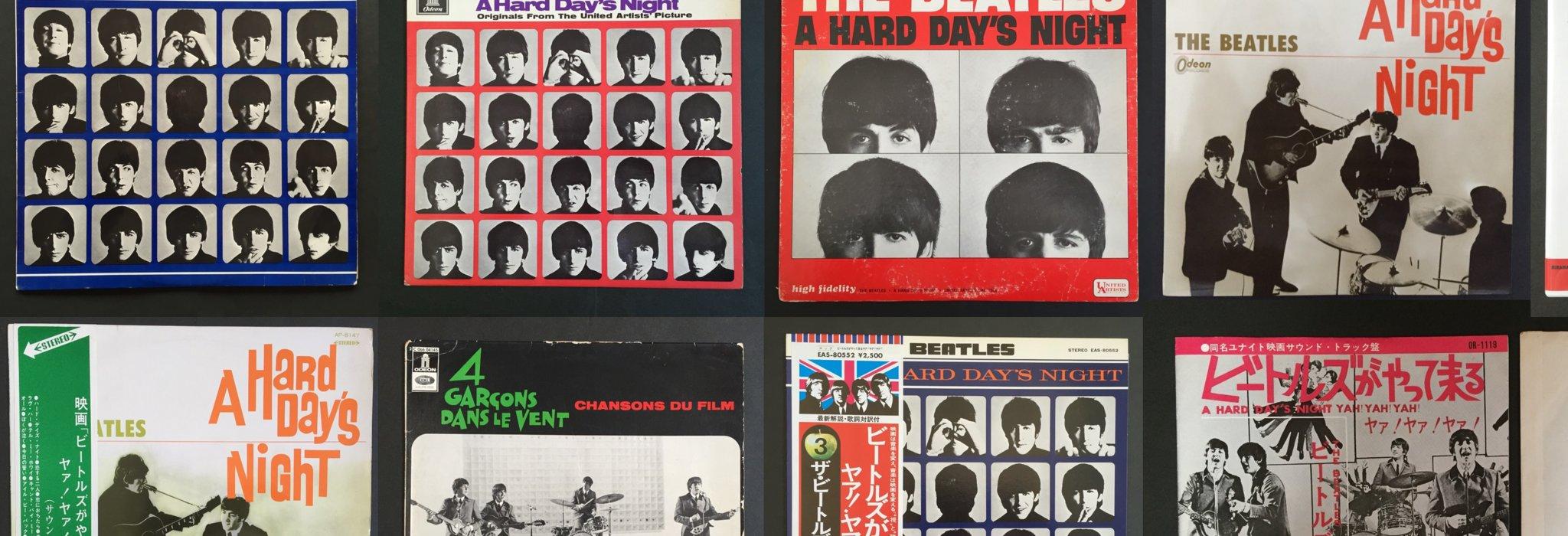 図鑑:世界中の「A HARD DAY'S NIGHT」レコードの比較_image