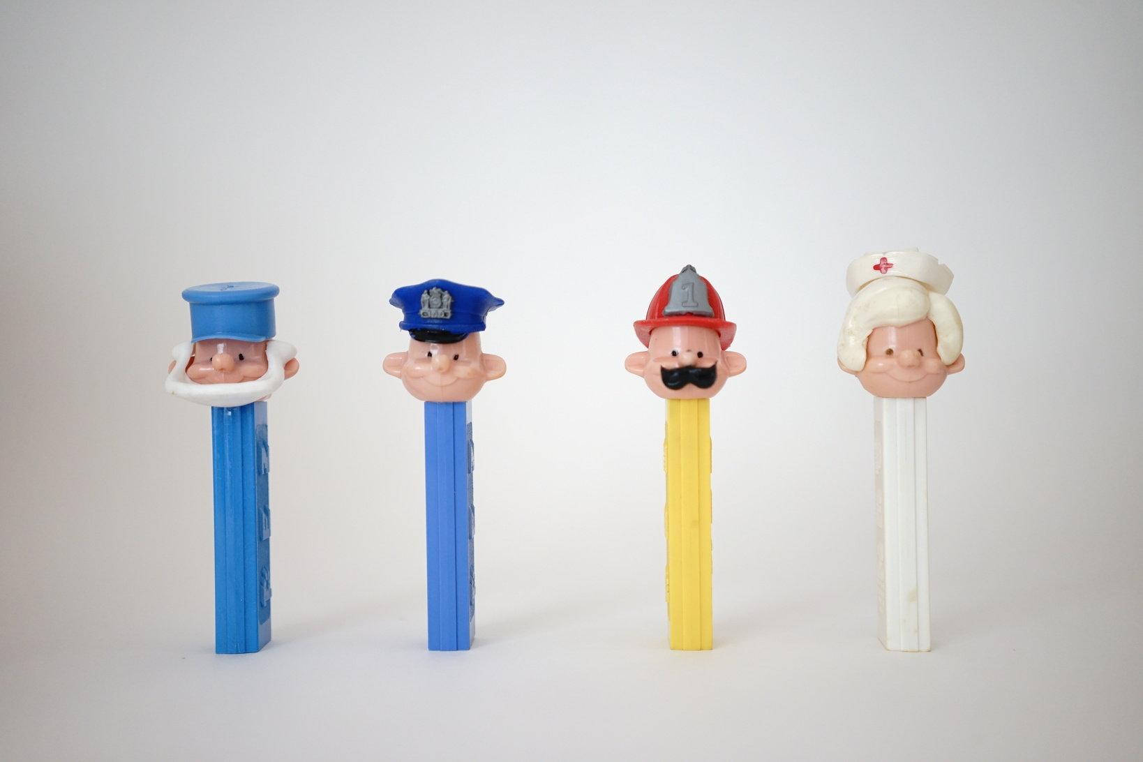 (左から)Sailor、Policeman、Fireman、Nurse