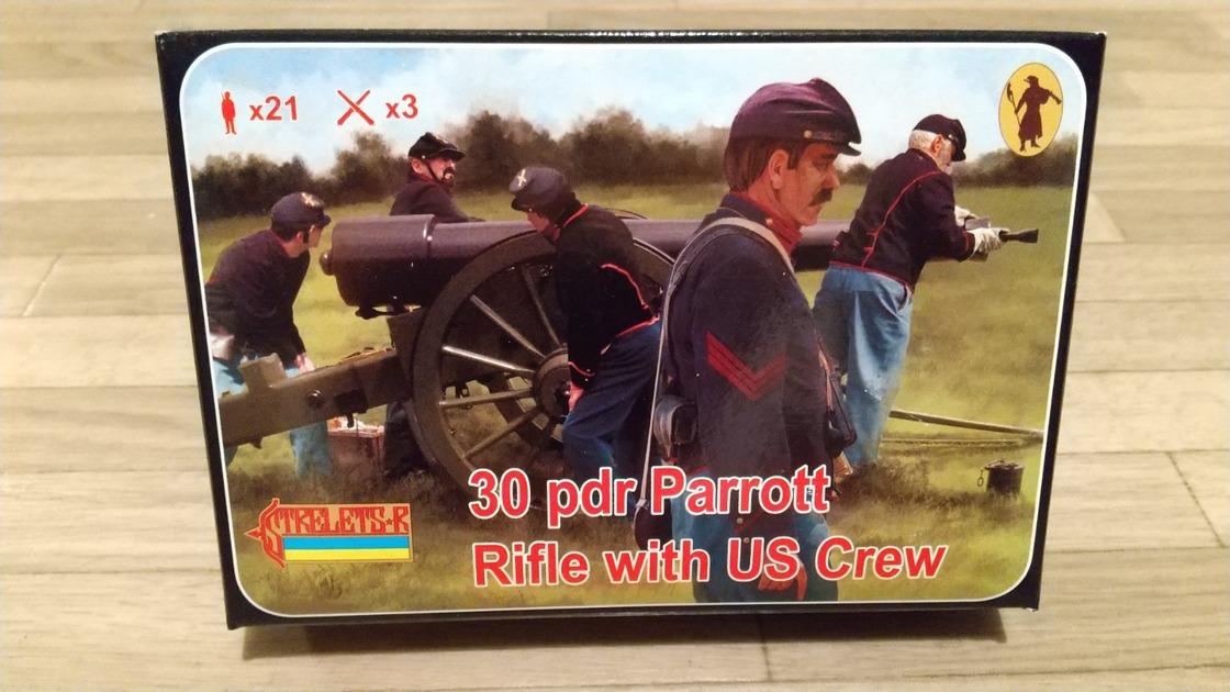 アメリカ南北戦争 北軍 30ポンド パロット砲 STRELETS-R - 模型 ...