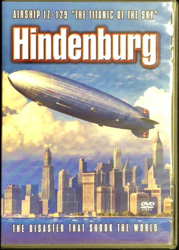 """Air Ship LZ-129 """"The Titanic of the Sky"""" Hindenburg. Disaster that ..."""