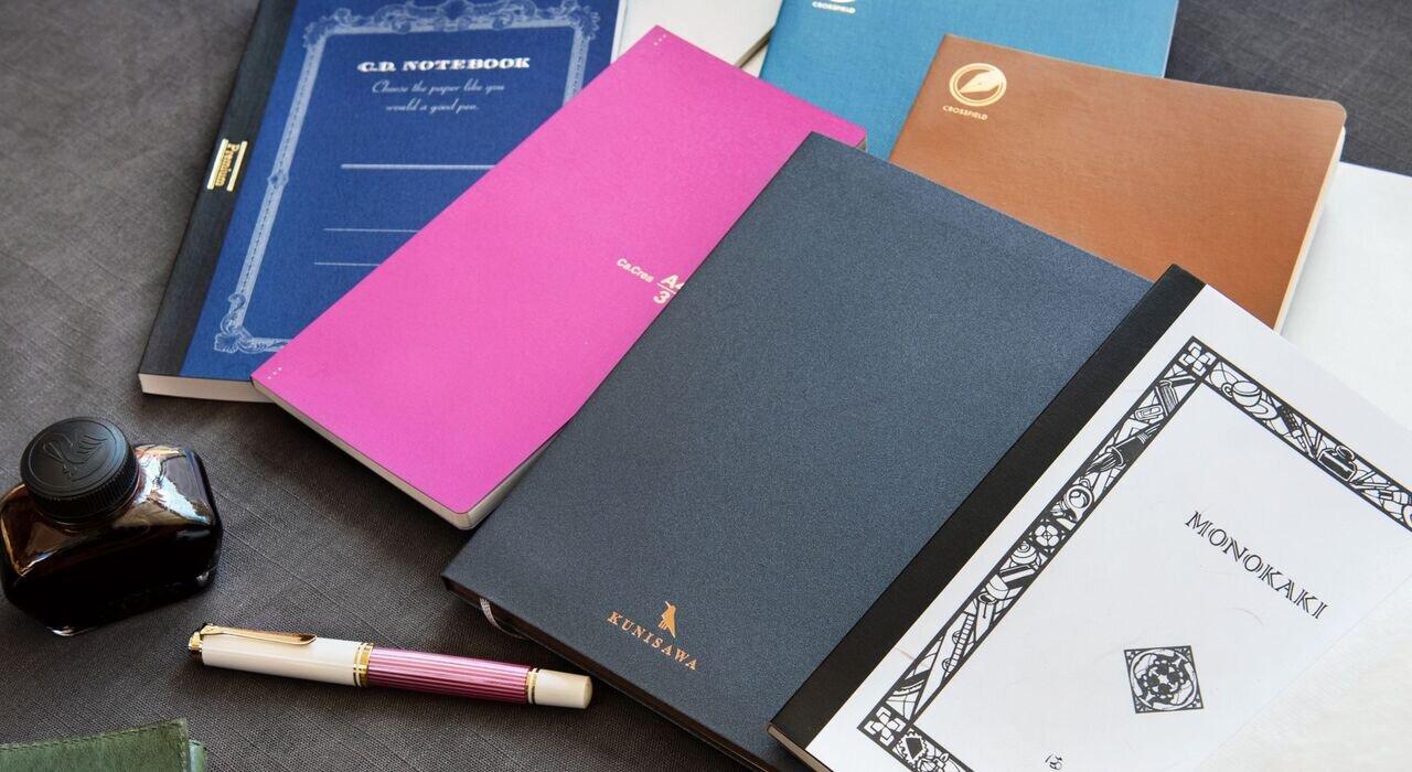 万年筆で書きたくなるノート。代官山 蔦屋書店 佐久間和子さんと「万年筆と紙の相性」を徹底調査!【後編】_image