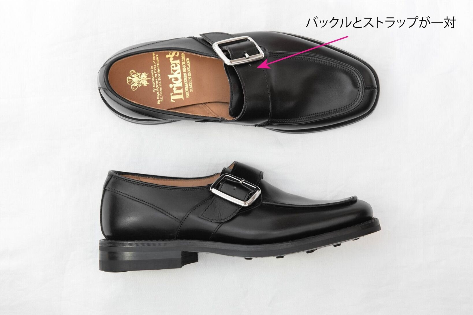 """「<a href=http://www.trickers-store.jp/shopdetail/000000000155/women/page2/recommend/ target='_blank'>L4869</a>」¥75,000+税/トリッカーズ青山店 ▶︎靴の詳細は<a href=""""https://muuseo.com/square/articles/1322"""" target=""""_blank"""">連載第2回</a>をチェック!"""