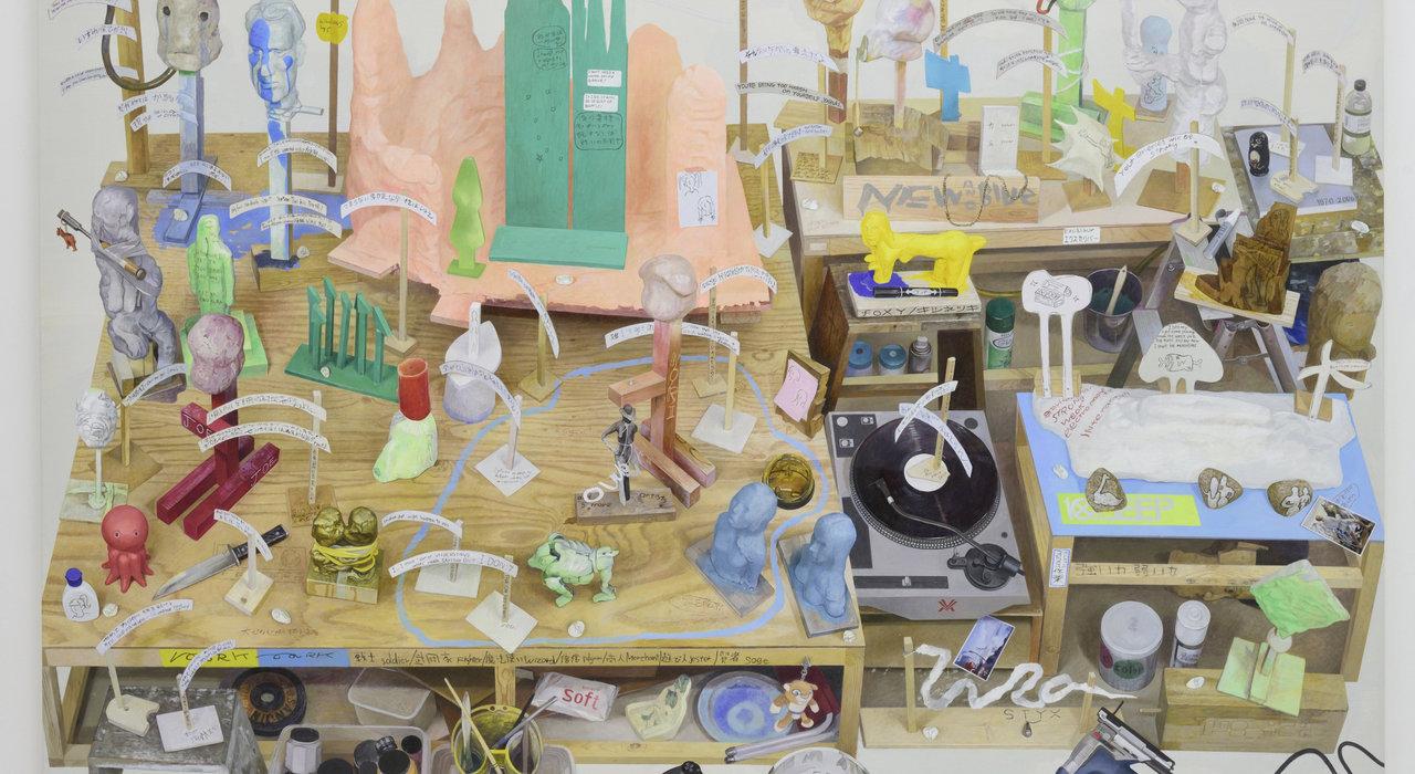 千葉正也の絵画探求「オブジェが何だかを知るために、絵を描いています」_image