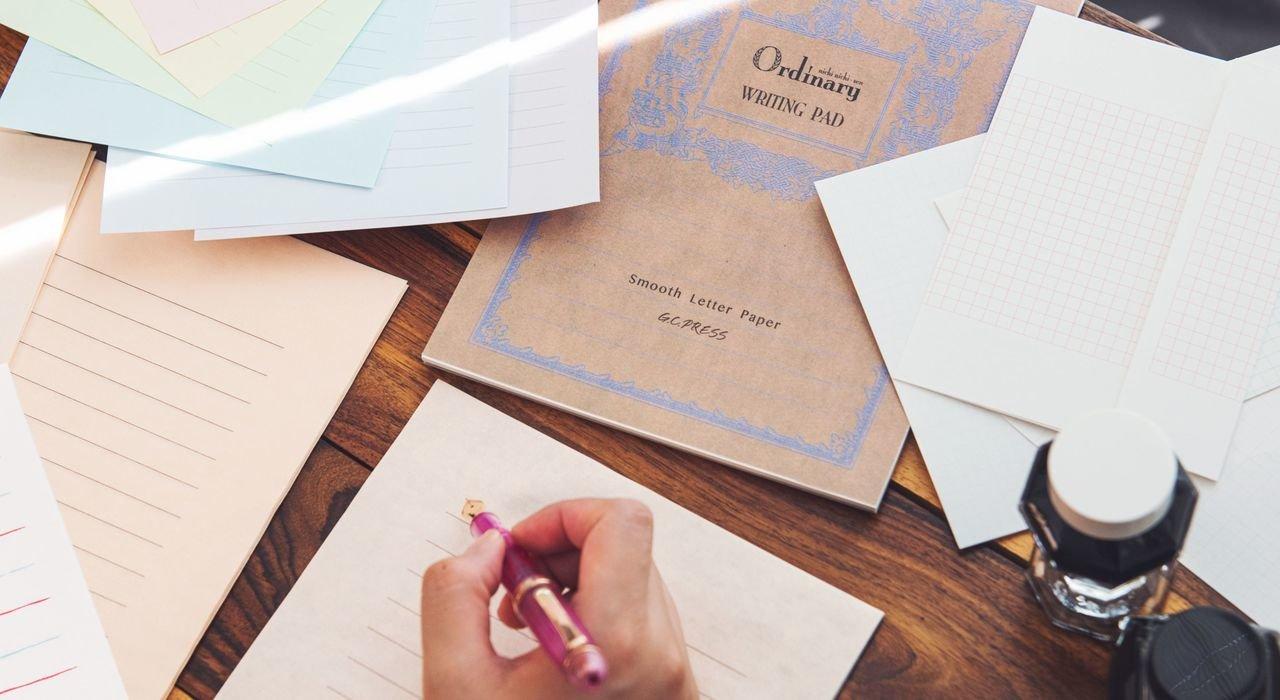 万年筆で書くと味がある便箋。日本橋高島屋 S.C.本館 セーラー万年筆担当のntさんと万年筆と紙の相性を探る!【後編】_image