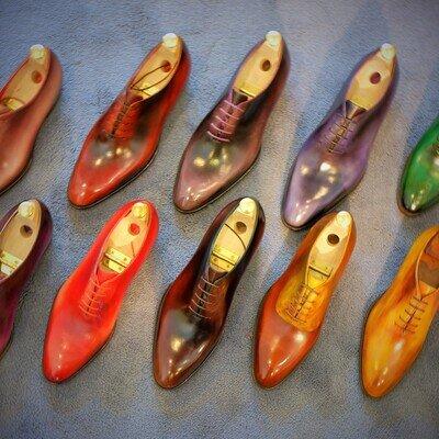 靴を染めるカスタムで「愛でる靴」に。 「カラリスト」という仕事_image