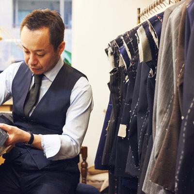 優美さ漂うスーツ&ジャケットを作り出す、Vick tailor(ヴィックテーラー)を訪ねて。_image