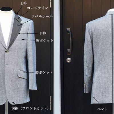 スーツやジャケットの部位(ディテール)を写真付きで解説!この部位は何と呼ぶ?_image
