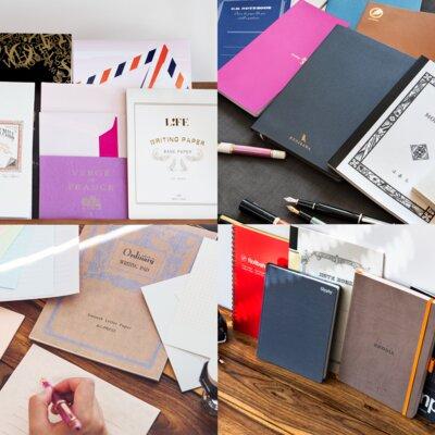 万年筆と紙の相性:ノートも便箋も試し書きを一気見せ!_image